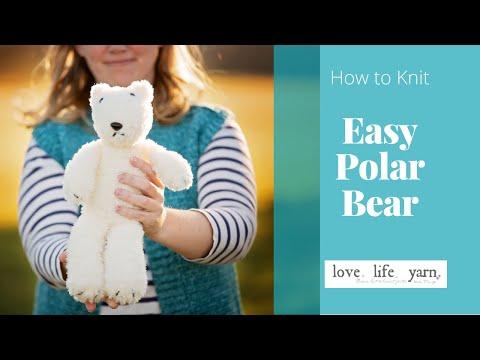 How to Knit a Polar Bear