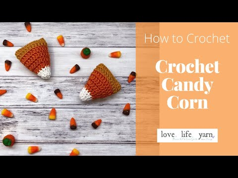 How to Crochet Candy Corn