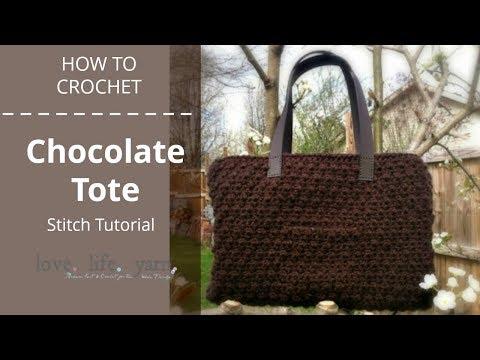 Chocolate Tote Stitch Tutorial