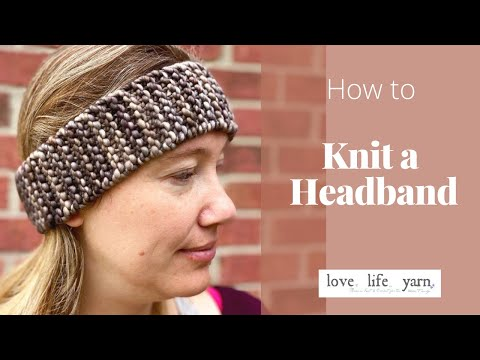 How to Knit a Headband