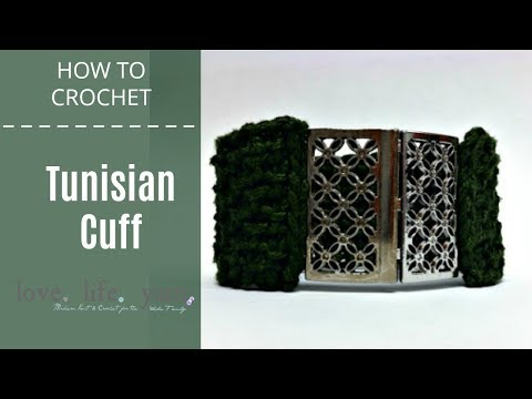 Tunisian Cuff Tutorial