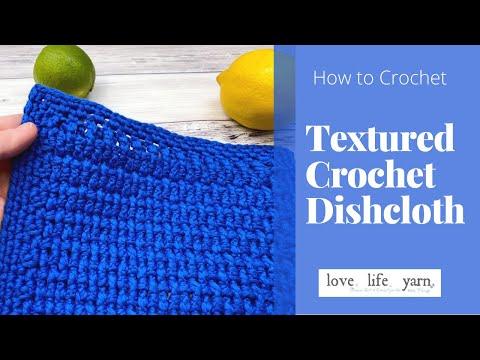 How to Crochet a Dishcloth | Easy Tutorial