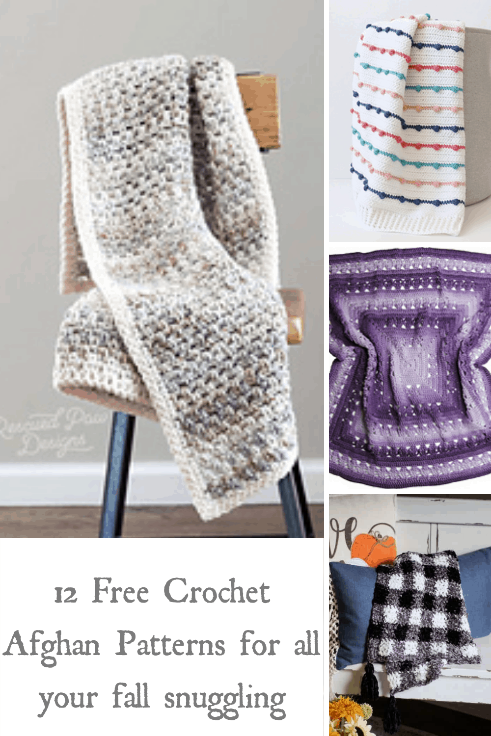 12 Free Crochet Afghan Patterns For All Your Fall Snuggling Love Life Yarn