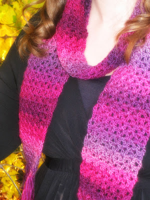 How to Crochet the Unforgettable One-Skein Scarf