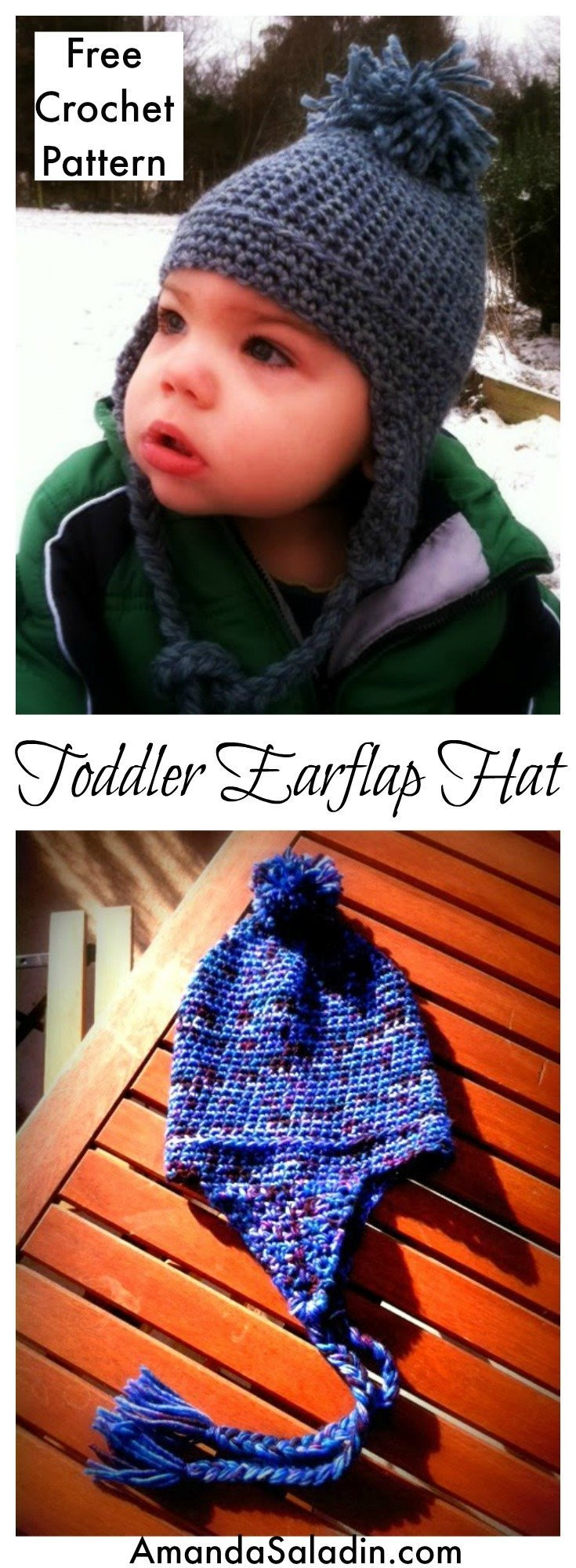 Cute and easy FREE crochet hat pattern
