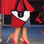 Color Block Bag designed by Amanda Saladin