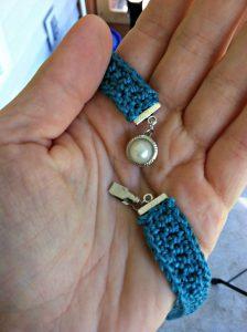 Free Pattern - Elegant Simplicity Necklace from Designing Crochet by Amanda Saladin