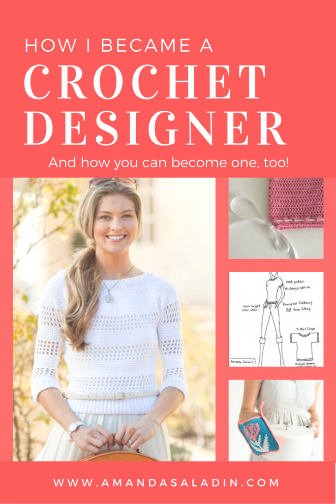 Have you ever wanted to design crochet patterns? You can! This tutorial can help - click through to learn more.