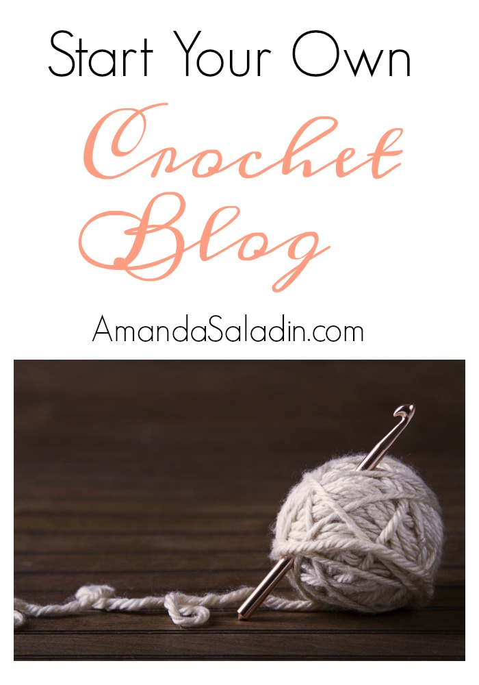 I can't believe how easy it is to start a crochet blog! Here's how...