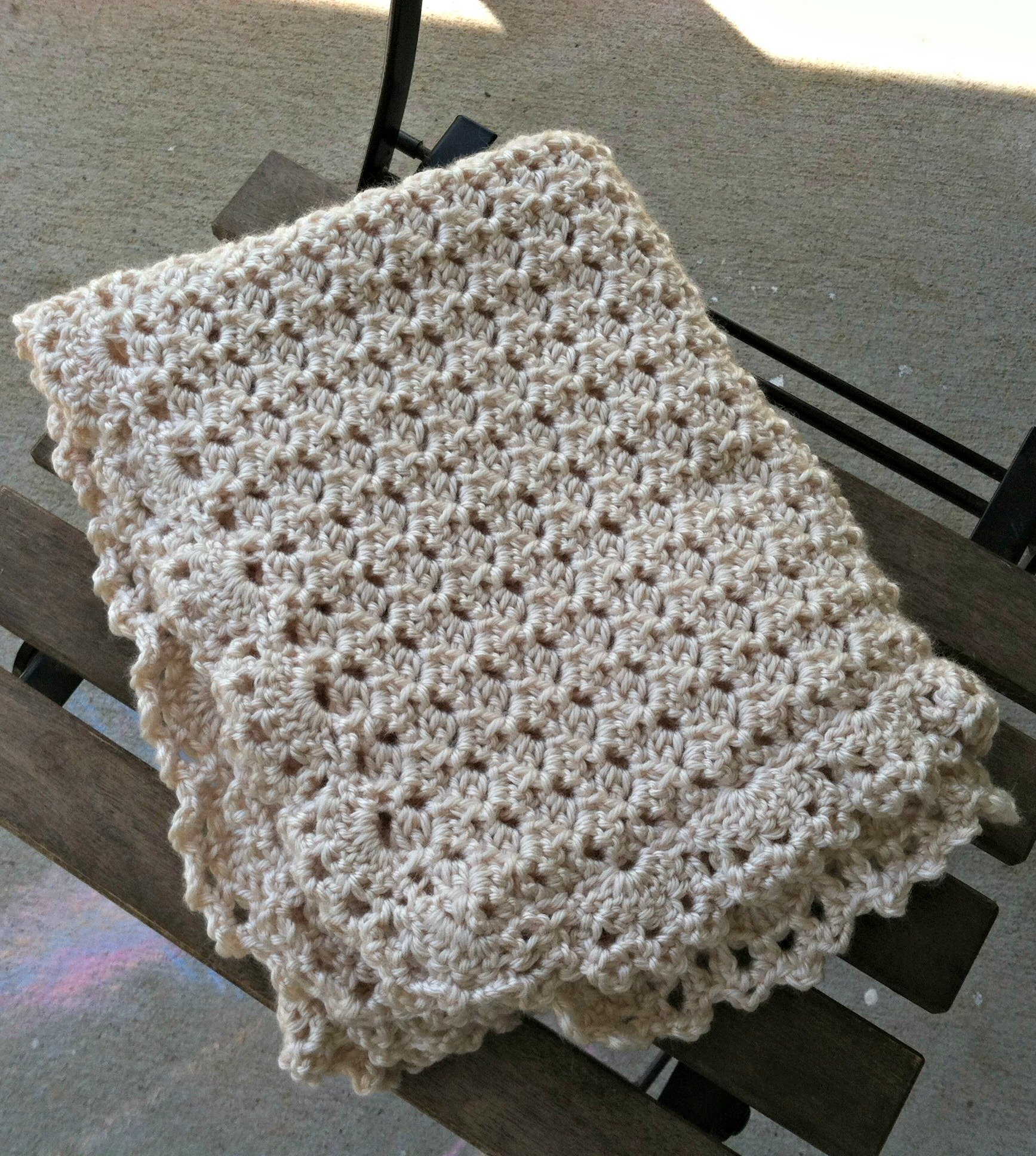 Duchess Baby Blanket Free Crochet Pattern Love Life Yarn