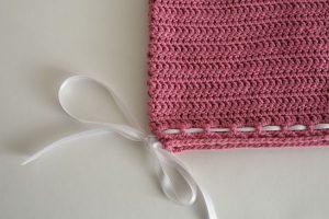 Pink Princess Ribbon Tee from Designing Crochet by Amanda Saladin