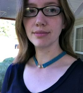 Free Pattern - Elegant Simplicity Necklace from Designing Crochet by Amanda Saladin