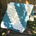 Free Pattern - Quick and Easy Baby Blanket from Amanda Saladin. Works up super quickly with Bernat Blanket yarn.