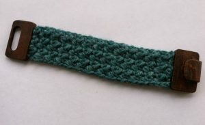 Free Pattern: Simple Textured Cuff from Designing Crochet by Amanda Saladin