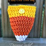 Free Pattern - Candy Corn Treat Bag from Designing Crochet by Amanda Saladin