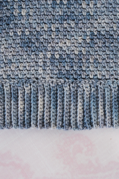 Polar Periwinkle Pullover by Amanda Saladin