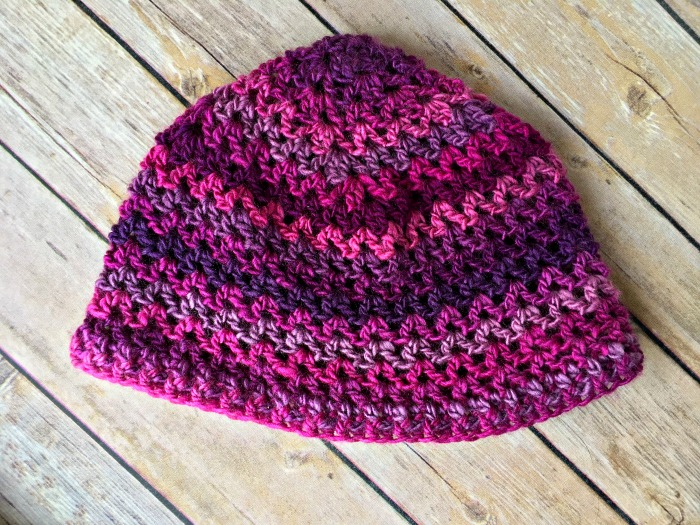 Free Crochet Pattern! I love this hat! Goes with my Unforgettable One-Skein Scarf