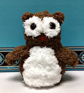 Free Crochet Pattern - Baby Pipsqueak Owl by Amanda Saladin
