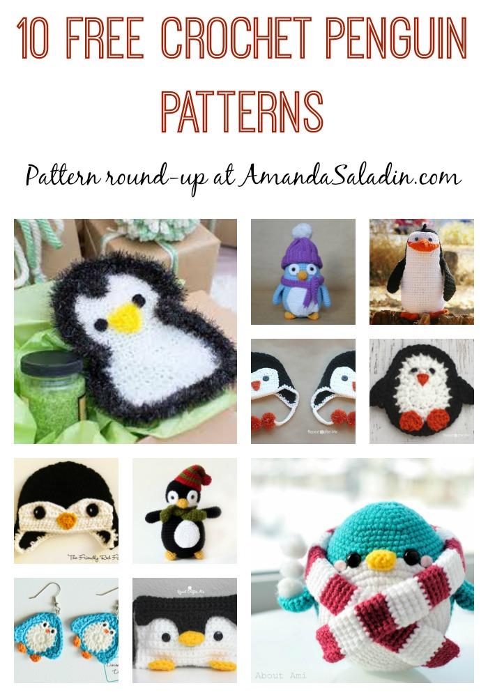 10 Free Crochet Penguin Patterns