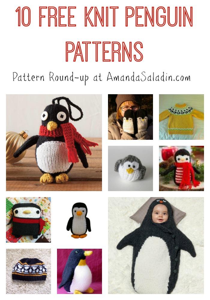 10 Free Knit Penguin Patterns Love Life Yarn