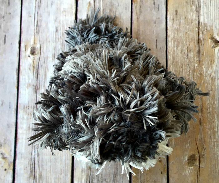 Free Knitting Pattern - Puppy Love Puffball