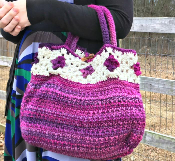 Free Crochet Pattern - Unforgettable Tote