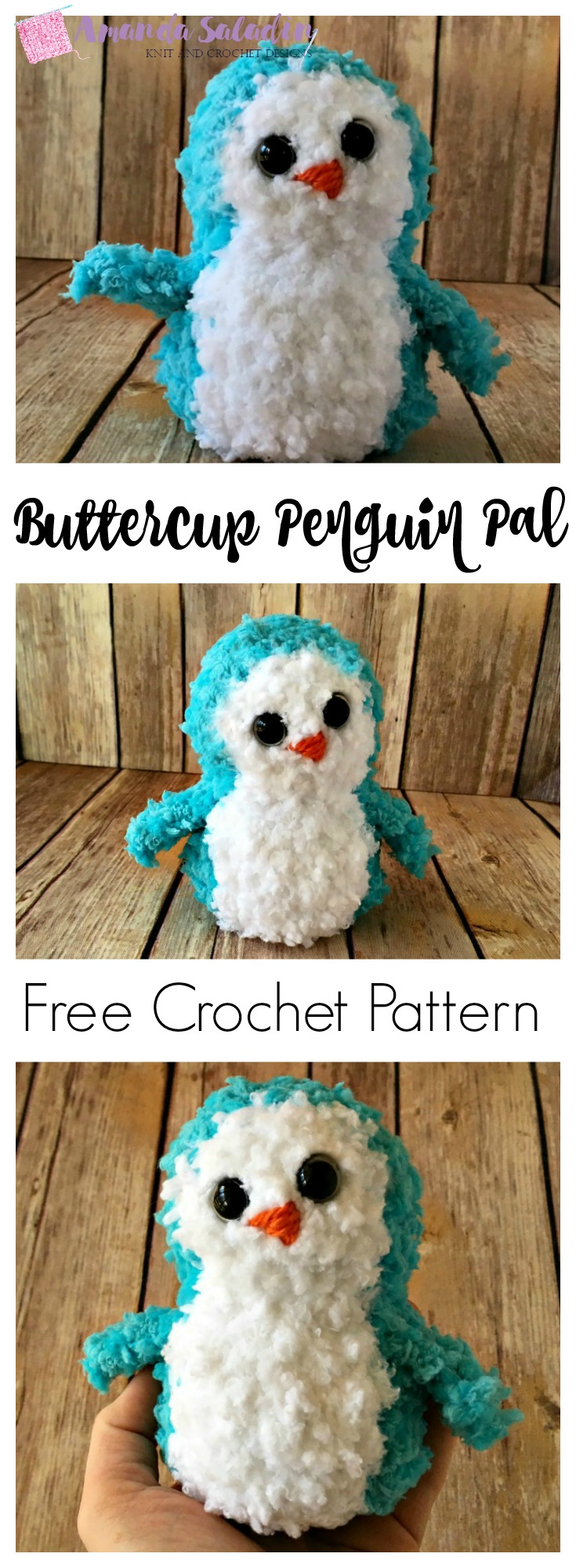 What a cute little penguin! And so easy to make!