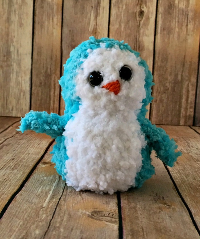 Free Crochet Pattern - Buttercup Penguin Pal