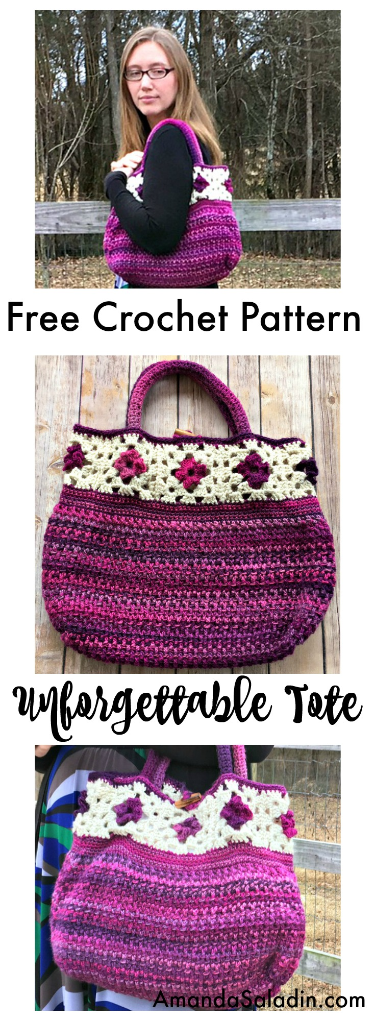 A cute, stylish FREE crochet pattern! I am making this!