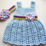 Free Crochet Baby Dress