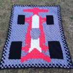 Free C2C Crochet Pattern - Race Car Blanket