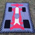Free C2C Crochet Pattern - Race Car Blanket