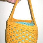 Free Crochet Yarn Holder Pattern