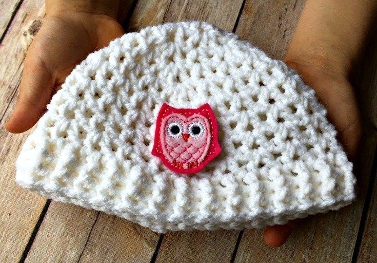 Sweet Little Baby Hat - Free Crochet Pattern