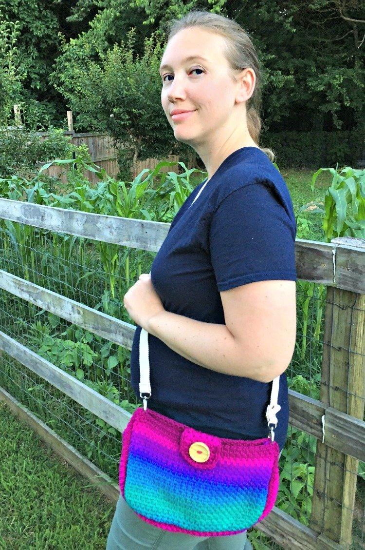 Free Crochet Pattern - Summer Escape Cross-Body Bag