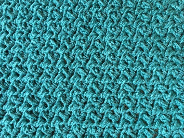 Free Crochet Pattern - Simple Textured Washcloth