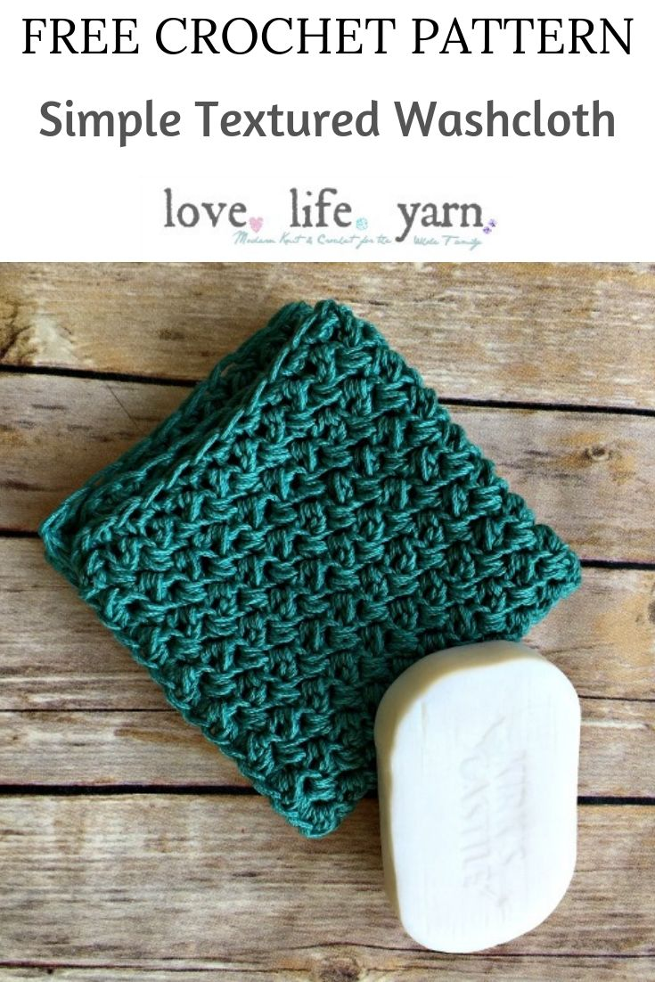This pattern is SO easy and elegant! The video tutorial walks you through step by step how to crochet this simple washcloth. Free crochet pattern! I love these and have made several already!