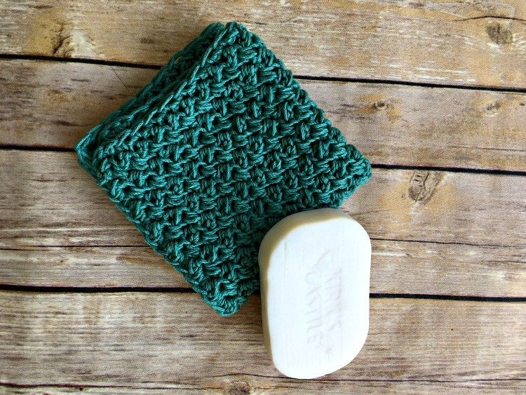 Free Crochet Washcloth Pattern Picture