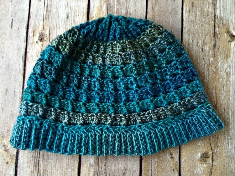 Free Crochet Pattern - Simple Textured Hat