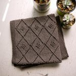 Free Knitting Pattern - Chocolate Parfait Baby Blanket