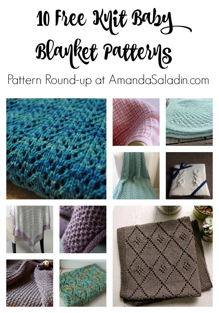 FREE Knit Baby Blanket Patterns