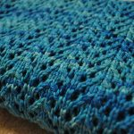 Free Knitting Pattern - Pine Forest Baby Blanket