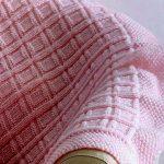 Free Knitting Pattern - Big Baby Blocks Blanket