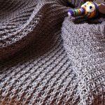 Free Knitting Pattern - Daisy Stitch Baby Blanket