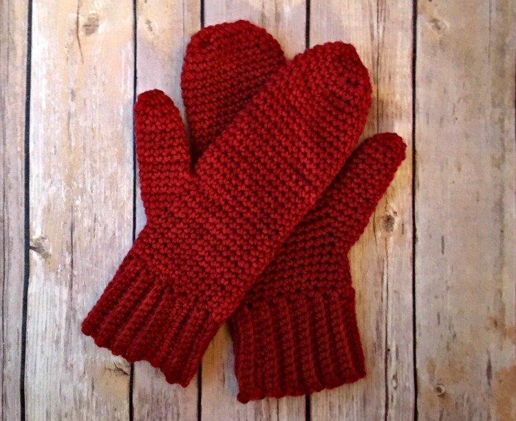 Basic Mittens - Free Crochet Pattern