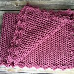 Free Crochet Pattern - Pretty in Pink Heirloom Baby Blanket