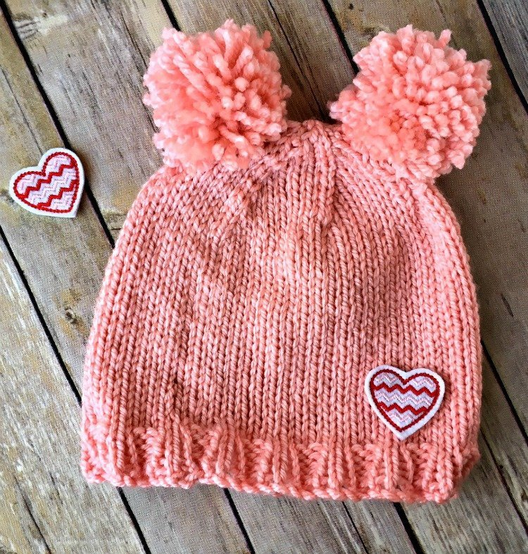 Free Knitting Pattern - Chunky Pom Pom Hat