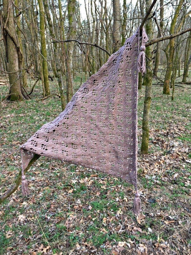 Free Crochet Pattern - Maple Forest Wrap