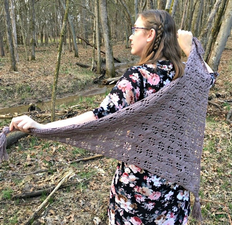 Free Crochet Pattern - Maple Forest Wrap