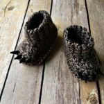 Free Crochet Pattern - Baby Bear Booties